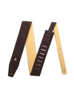 Dunlop BMF-S02 Suede BMF Strap Mahogany