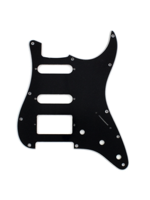 Allparts PG-0995-033 Pickguard for Stratocaster 1H + 2S Black