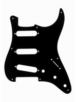 Allparts PG-0550-023 Pickguard for Stratocaster Black