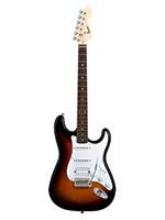 Squier Bullet HSS, Rw Brown Sunburst