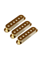 Allparts PC-0406-002 Pickup Covers for Stratocaster Gold