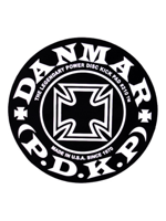 Danmar 210IC Iron Cross Power Disk Kick Pad