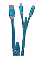 Zzipp ZZACC2 USB Cable x iOS e Android
