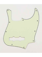 Allparts PG-0755-024 Pickguard for Jazz Bass Mint green
