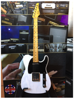 Suhr SUHR CLASSIC T ANT.WHITE SS MP