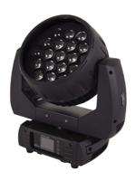 Sagitter QUARTZ300 Set Moving head Wash 19x15W led RGBW/FC Zoom  w/Case