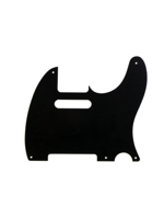 Allparts PG-0560-038 Pickguard for Telecaster Black Bakelite