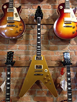 Gibson Flying V Standard Goldtop Custom