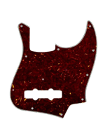 Allparts PG-0755-043 Pickguard for Jazz Bass Tortoise