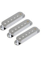 Allparts PC-0406-010 Pickup Covers for Stratocaster Chrome