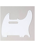 Parts Tele Pickguard White