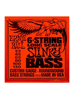 Ernie Ball 2838 - 6-string Long Scale Slinky Bass
