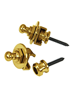 Schaller Security Strap Locks - Gold
