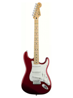 Fender Standard Stratocaster Candy Apple Red Mn