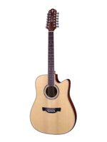 Crafter D 8-12 String Natural