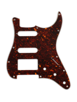 Allparts PG-0995-043 Pickguard for Stratocaster 1H + 2S Tortoise