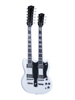 Gibson Custom Shop EDS-1275 Double Neck Alpine White
