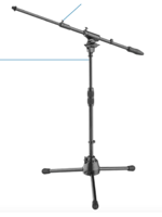 Die Hard DHPMS60 Professional Low Microphone Stand,