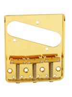 Allparts TB-0020-002 Bridge for Tele Gold