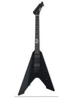 Ltd Vulture Signature James Hetfield Black Satin