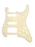 Allparts PG-0995-065 Pickguard for Stratocaster 1H + 2S Parchment Pearloid