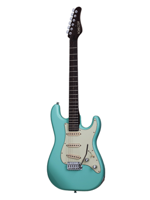 Schecter Traditional Nick Johnston Signature Atomic Green