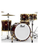 Pearl Limited Edition Mahogany Red Burl Mahogany Fade 5 Shells Pack - Expo