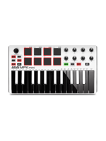 Akai MPK Mini MK2 WH Limited Ed.