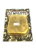Allparts BP 0481 002 Bridge Cover for Tele Gold