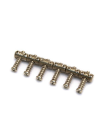 Allparts Nickel Jazzmaster/Jaguar Guitar Bridge Saddles BP 0046-001