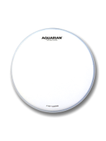 Aquarian AQU-TC6 - Texture Coated 6""