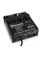 Beamz 4-Channel Switch Pack II