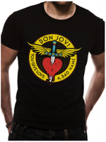 Cid BON JOVI  - Through The Heart Black TG XL