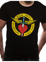 Cid BON JOVI  - Through The Heart Black TG S