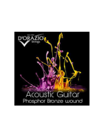 D'orazio Acoustic Phosphor Bronze 11/50