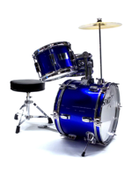 Darestone JDR3BL - Batteria Start Junior 3 Pezzi In Metallic Blue