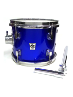 Ddrum D2 10x8 Police Blue
