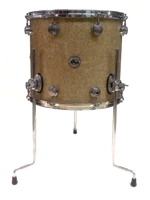 "Dw (drum Workshop) Collector's Series 16""x14"" Floor Tom in Broken Glass"