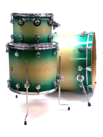 Dw (drum Workshop) Collector's Series - Satin Specialty Turquoise Burst (SET EXPO)