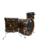 Dw (drum Workshop) Collector's Series - Set di Batteria 3 Pezzi in Black Oyster Glass