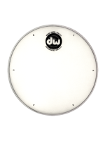 "Dw (drum Workshop) DRDHCW10 - Pelle Per Rullante Da 10"" Coated Bianca Con Sequenza Per Accordatura"