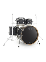 Dw (drum Workshop) Performance Standard Set in Black Diamond