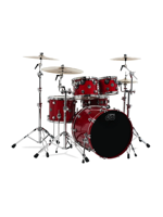 Dw (drum Workshop) Performance Standard Set in Candy Apple Red