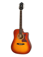 Epiphone Masterbilt DR-400MCE Faded Cherry Sunburst