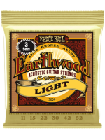 Ernie Ball 3004 Earthwood Bronze Light 11/52 3-Set