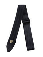 Ernie Ball 4139 Seatbelt Black Guitar Strap