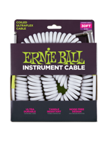 Ernie Ball 6045 Coiled Cable White
