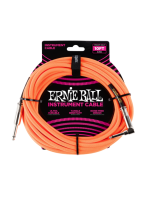 Ernie Ball 6079 Braided Cable Neon Orange