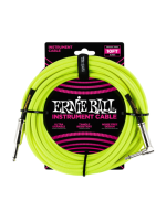 Ernie Ball 6080 Braided Cable Neon Yellow