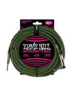 Ernie Ball 6082 Braided Cable Black/Green